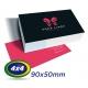 1000 Cartões de Visita 9x5cm Couche 300g 4x4 cor Laminação Fosca - Produção 3 dias úteis