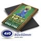 500 Imãs de Geladeira 8x5cm 4x0 cor Corte Reto - Produção 5 dias úteis