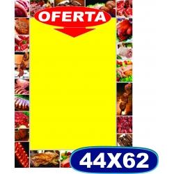 Cartaz Açougue Médio - 46x60 cm - CÓD. 526 - Pacote c/ 100 uni.