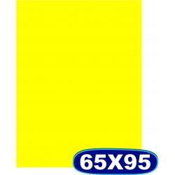 Cartaz Chapado Amarelo - 65x95cm - CÓD. 505 - Pacote c/ 100 uni.
