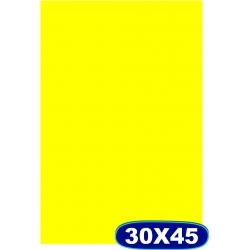 Cartaz Chapado Amarelo- 30x45cm -  Cod 507 Pacote c/ 100 uni.