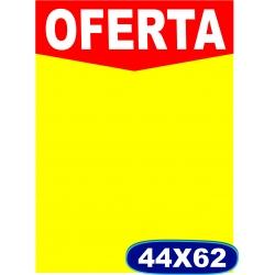 Cartaz Oferta 44x62 cm - Cod. 504-  Pacote c/ 100 und