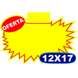 Splash Mini c/ Oferta e c/ Aba - 12x17cm - CÓD.03- Pacote c/ 100 uni.