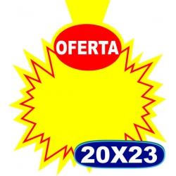 Splash Oferta c/ Aba -20 x23cm - CÓD.05- Pacote c/ 100 uni.