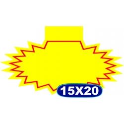 Splash S/ Oferta C/ Aba- 15x20cm- CÓD. 02 - Pacote c/ 100 uni.