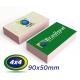 1500 Cartões de Visita 9x5cm Reciclato 240g 4x4 cor - Produção 3 dias úteis