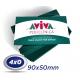 1000 Cartões de Visita 9x5cm Couche 230g 4x0 cor Verniz UV Total Frente Produção 2 dias úteis