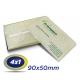 500 Cartões de Visita 9x5cm Reciclato 240g 4x1 cor - Produção 3 dias úteis
