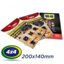 2500 Folhetos 20x14cm Couche 90g 4x4 cor - Produção 2 dias úteis