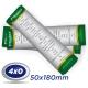 1000 Marcadores 5x18cm Couche 300g 4x0 cor -Laminação Fosca UV localizado - Produção 3 dias